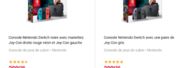 [Bon plan] 10% crédités aux membres Fnac pour l'achat d'une console Nintendo Switch
