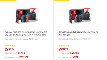[Bon plan] 10% crédités aux membres Fnac pour l'achat d'une console Nintendo Switch