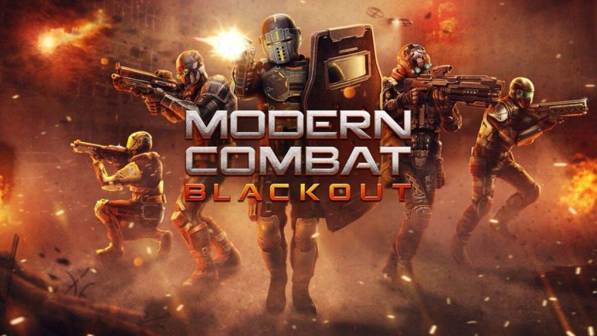 Le 14 février, le jeu de FPS mobile Modern Combat Blackout arrivait sur Switch