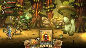 45 minutes de gameplay pour SteamWorld Quest : Hand of Gilgamech