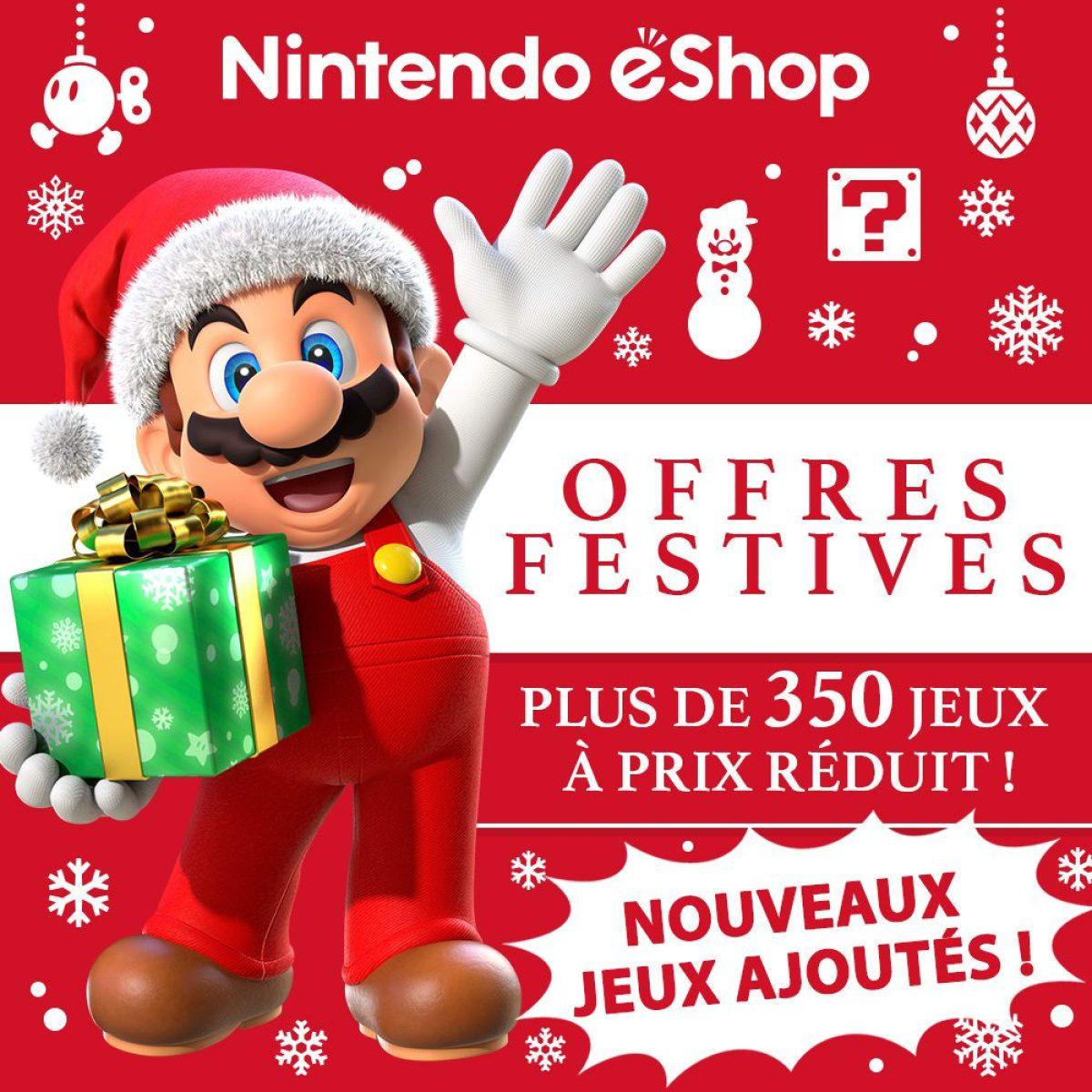 eShop Nintendo : profitez de 350+ promotions sur des jeux dont 84 pour la Switch