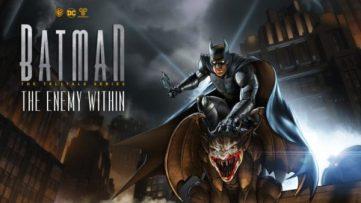 Logo de batman the enemy within