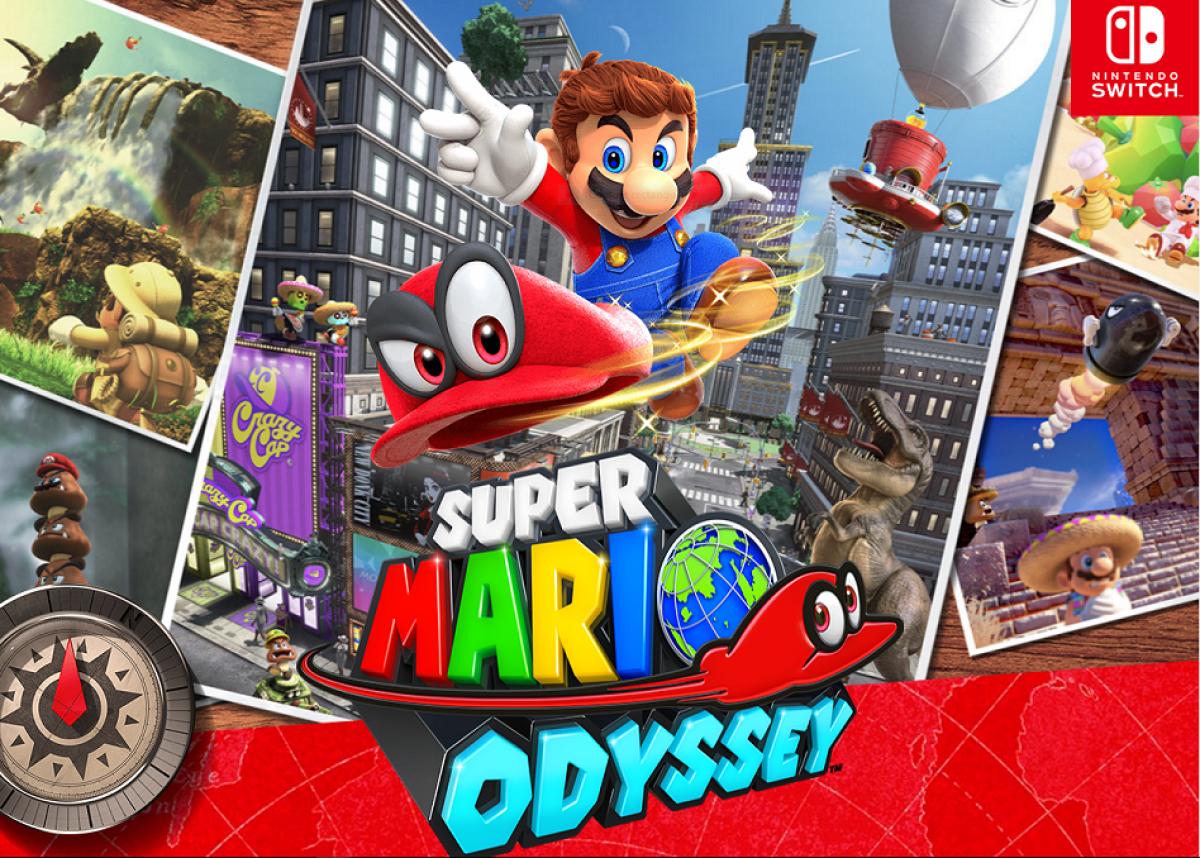 Jaquette du jeu Super Mario Odyssey