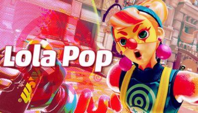 Lola pop : le nouveau personnage du jeu arms