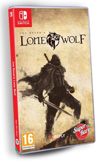 La boite de Joe Dever's Lone Wolf