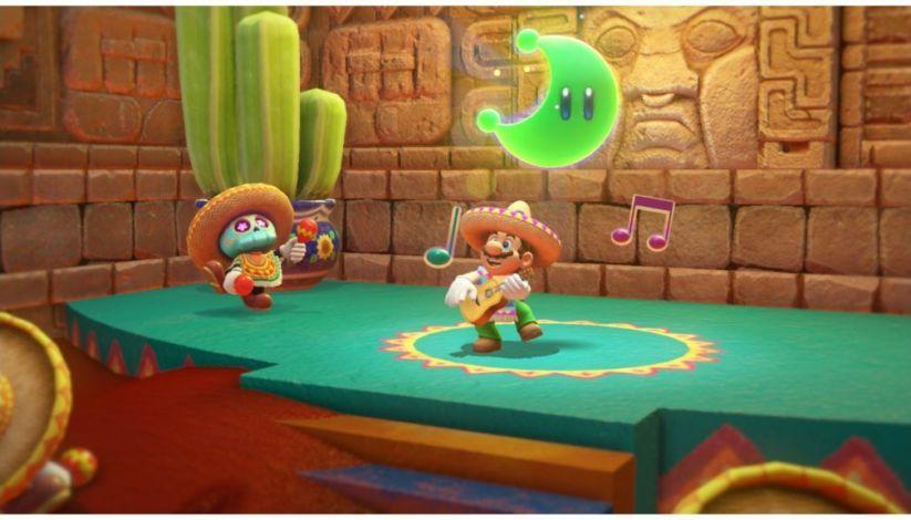 Mario fait de la promo pour son prochain titre