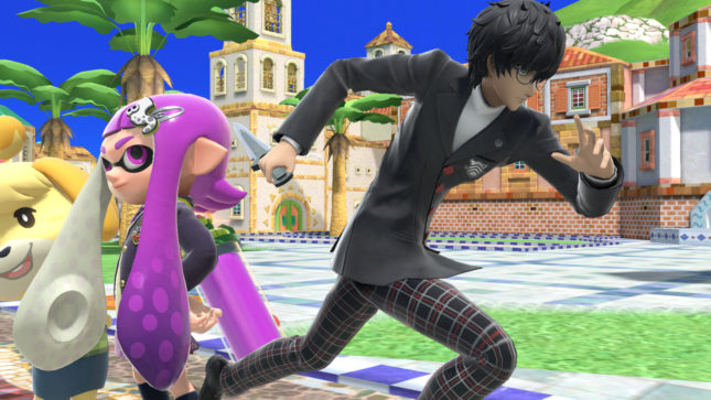 Ren Amamiya dans Super Smash Bros Ultimate
