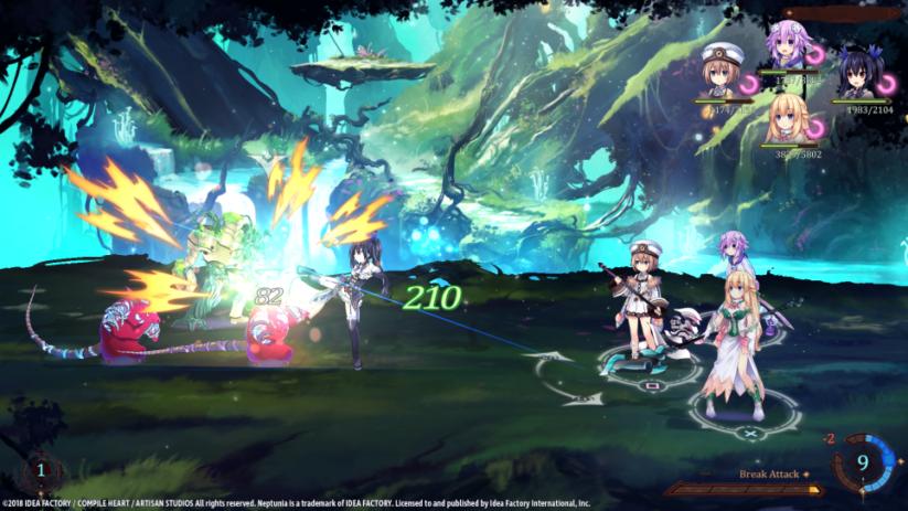 Super Neptunia RPG arrive sur Switch à l'automne