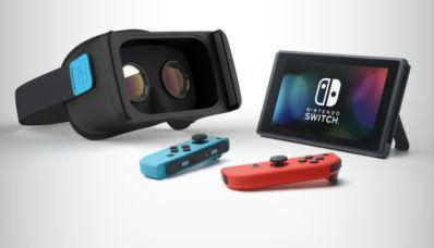 Un casque de réalité virtuelle pour switch