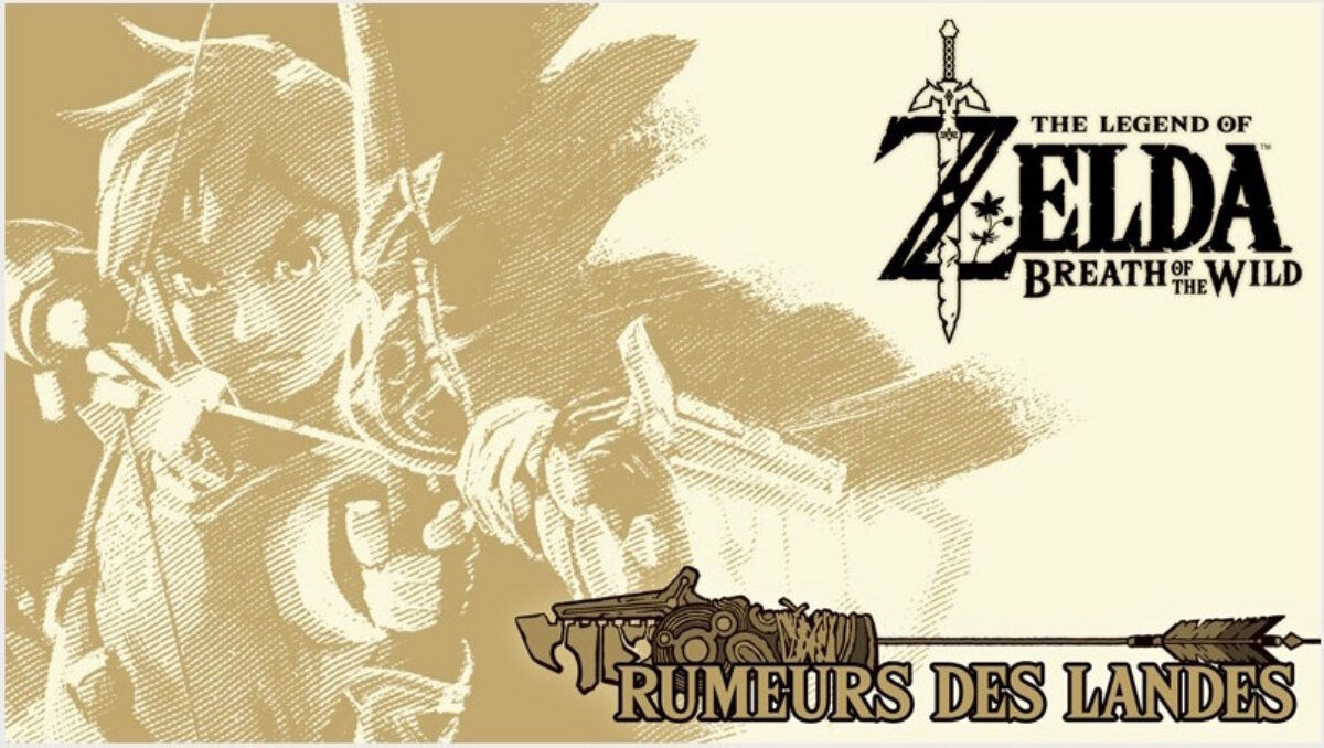 Zelda BOTW rumeurs des landes