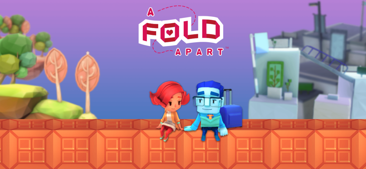 Jeu A Fold Apart sur Nintendo Switch : artwork du jeu