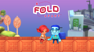 Jeu A Fold Apart sur Nintendo Switch : artwork du jeu
