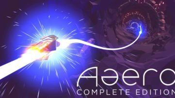 Jeu Aaero : Complete Edition sur Nintendo Switch : artwork du jeu