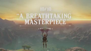 Nintendo se fend d'un accolade trailer pour Zelda : Breath of the Wild sur Switch