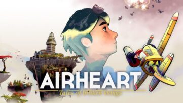 Affiche de Airheart – Tales Of Broken Wings sur Nintendo Switch