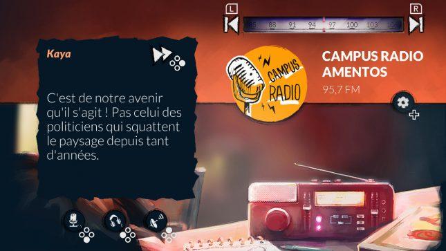 Jeu Alt-Frequencies sur Nintendo Switch : Radio Campus