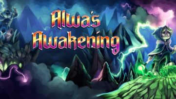 Jeu Alwa's Awakening sur Nintendo Switch : artwork du jeu