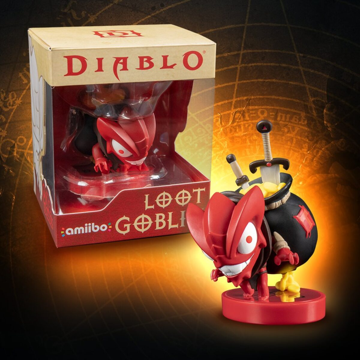 [Précommande] L'amiibo Loot Goblin de Diablo III: Eternal Collection à 14€99