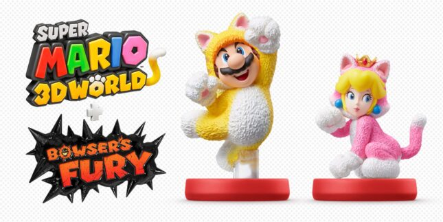 Les Amiibos Mario et Peach Chat arriveront en même temps que Super Mario 3D World + Bowser's Fury sur Nintendo Switch