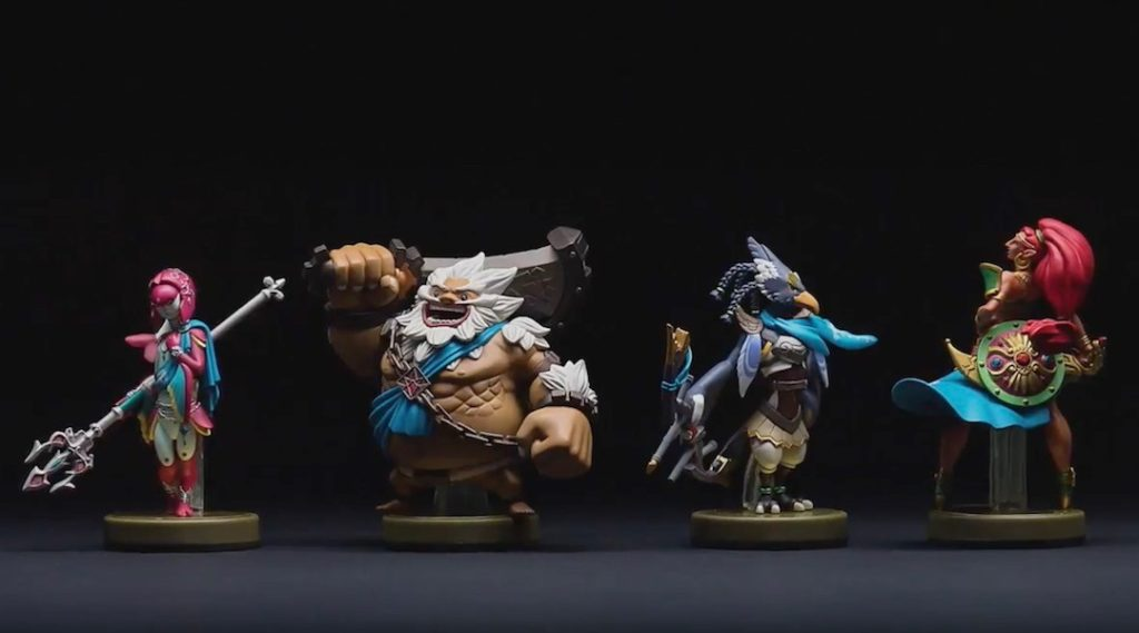 Amiibos des prodiges dans Zelda Breath of the Wild