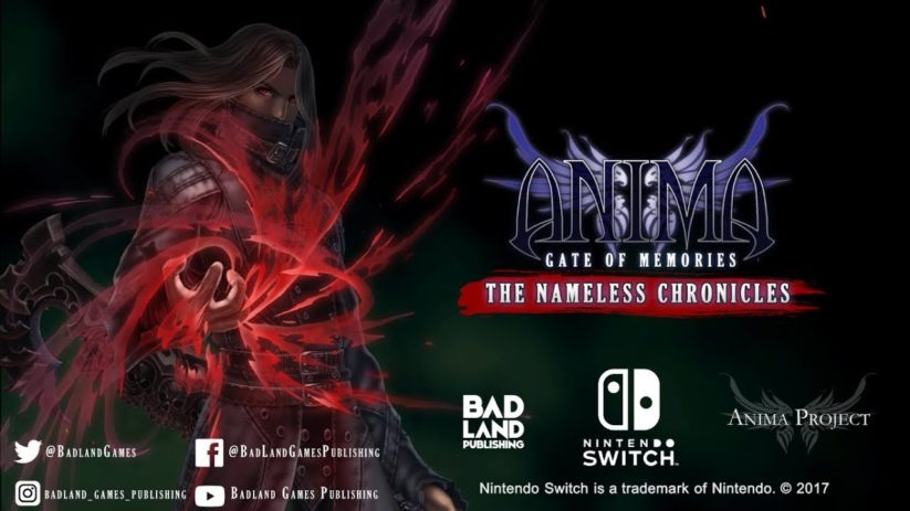 Anima : Gate of Memories et sa suite arriveront bientôt sur Nintendo Switch