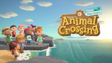 Jeu Animal Crossing : New Horizons sur Nintendo Switch : artwork du jeu