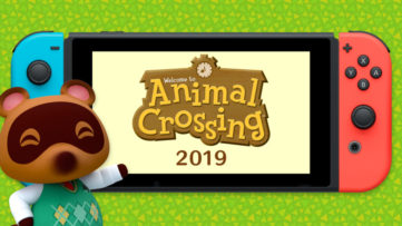 Jeu Animal Crossing sur Nintendo Switch : annonce du jeu