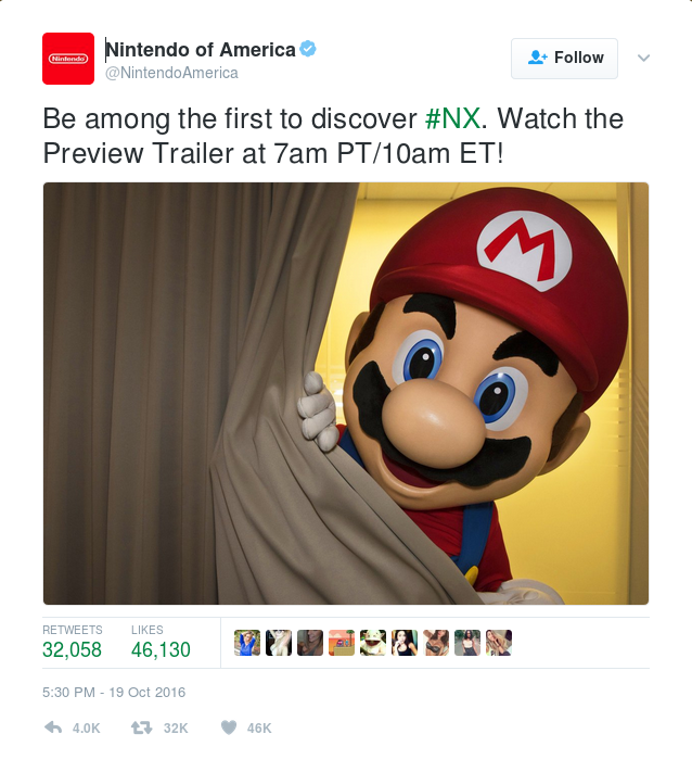 Be among the first to dannoniscover #NX. Watch the Preview Trailer at 7am PT/10am ET!