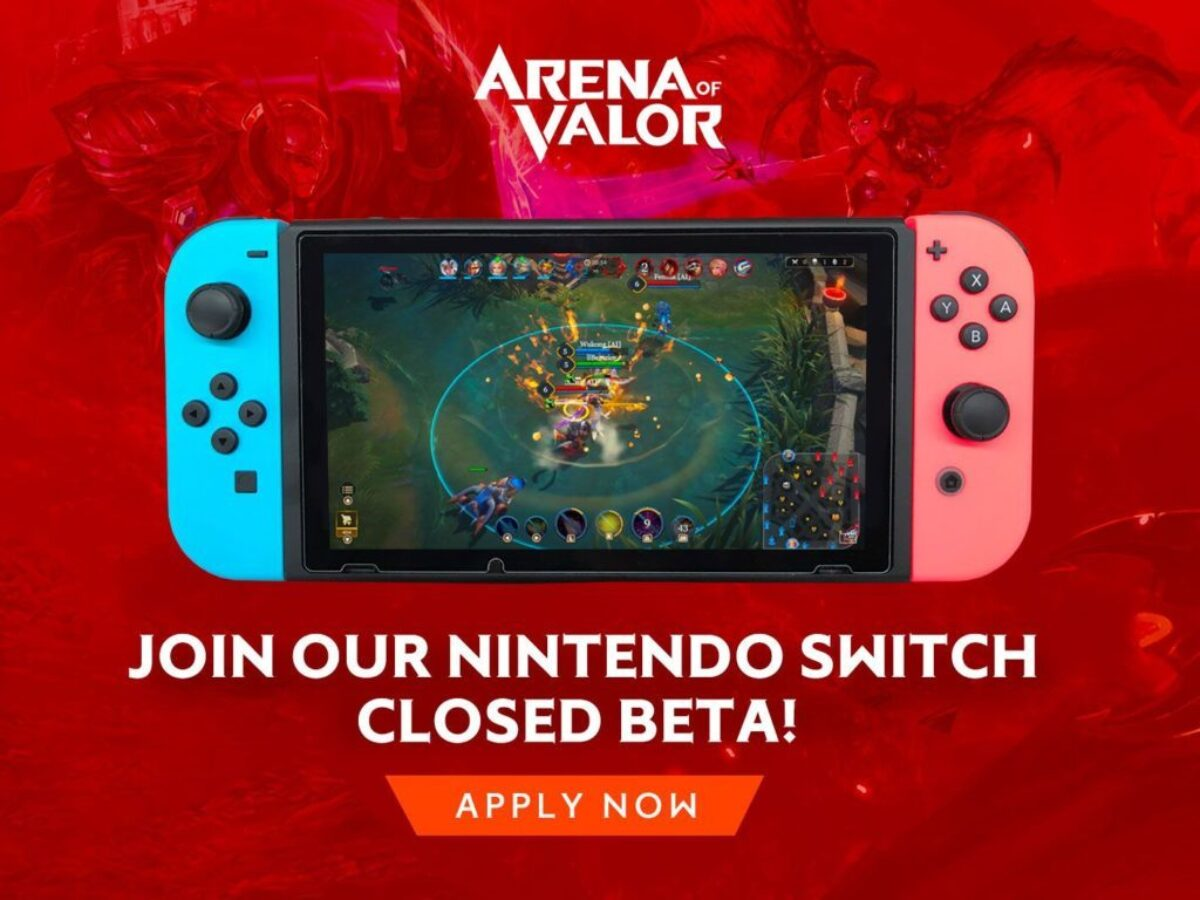 Arena of Valor arrive en bêta sur Nintendo Switch