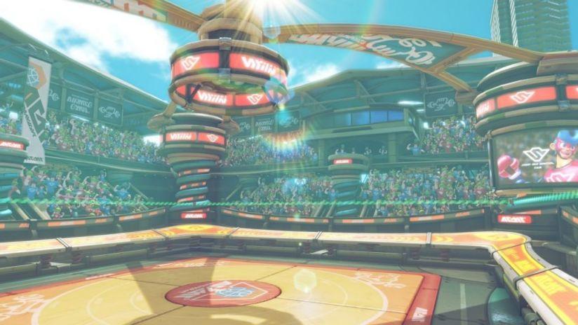 Arms : arène stade Spring de Spring-Man