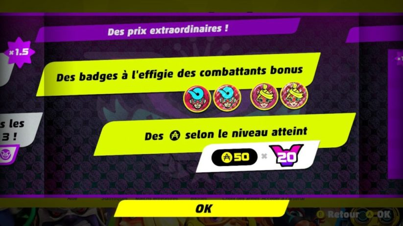 Party Crash : gains en pièces et badges