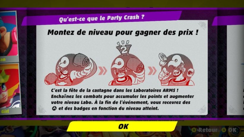 Party Crash : principe de l'événement Arms
