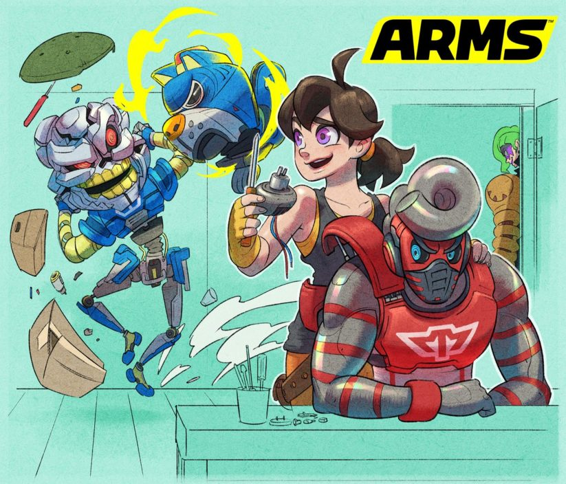 Fanart de la version 5.2 de ARMS