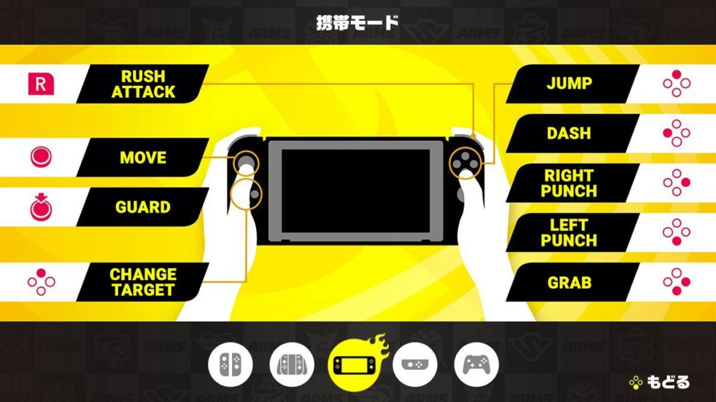 Gameplay d'Arms : portable