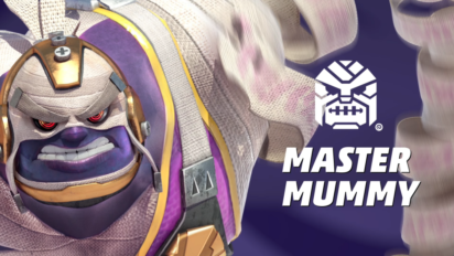 Arms : personnage Master mummy