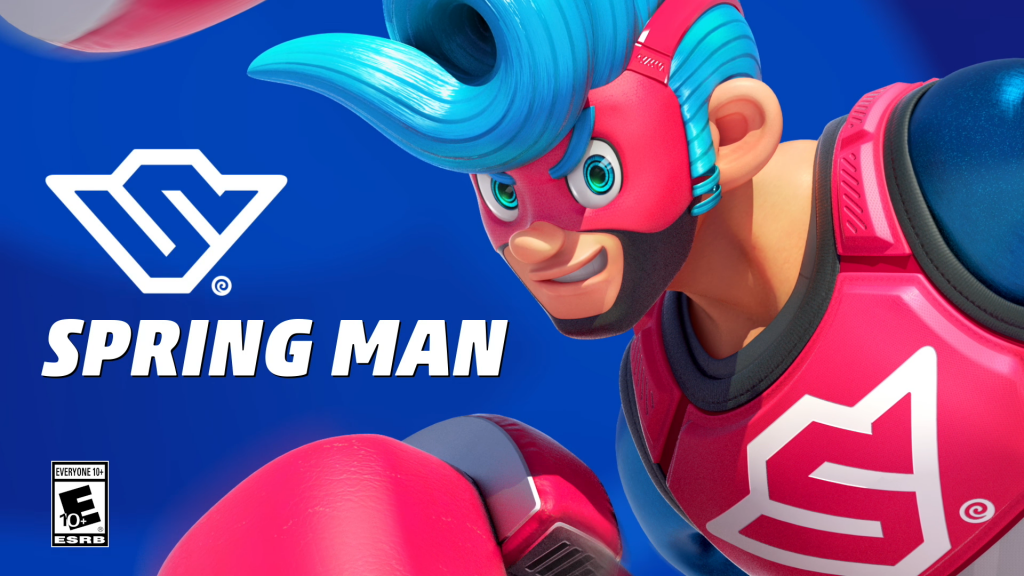 Arms : personnage Spring man