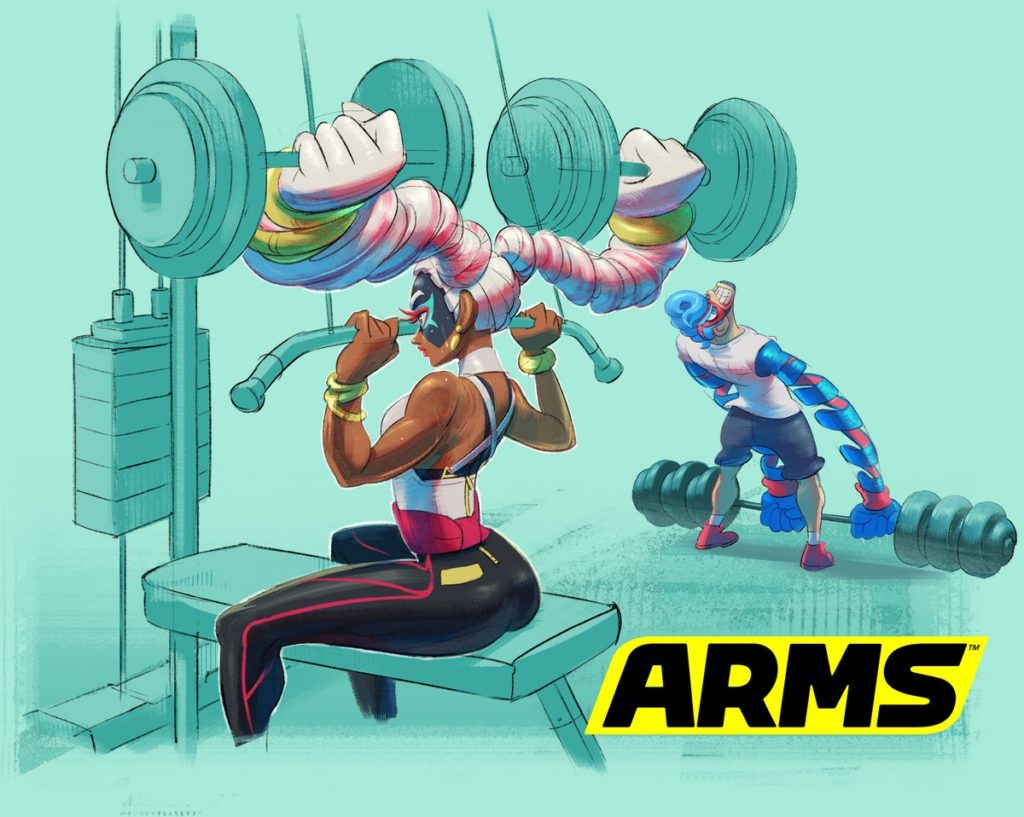 Arms Twintelle Spring Man