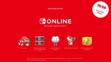 Le Nintendo Switch Online arrive aujourd'hui