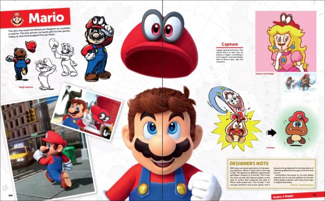 Artbook The Art of Super Mario Odyssey : screenshot 1