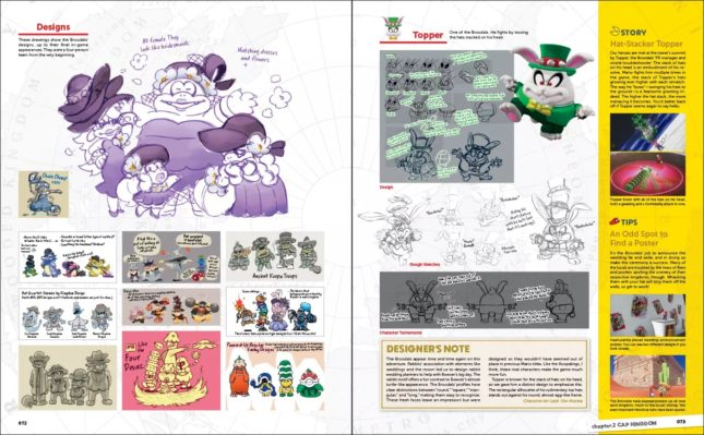 Artbook The Art of Super Mario Odyssey : screenshot 2
