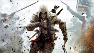 Jeu Assassin's Creed III Remastered sur Nintendo Switch : artwork du jeu