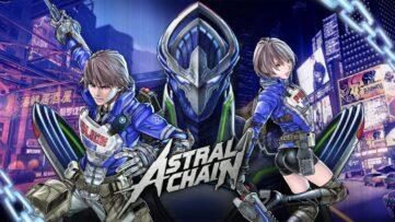 Jeu Astral Chain sur Nintendo Switch : artwork du jeu