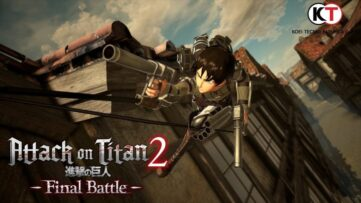 L'extension Attack on Titan 2 : Final Battle débarque cet été sur Nintendo Switch