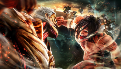 Jeu Attack on Titan 2 sur Nintendo Switch : artwork