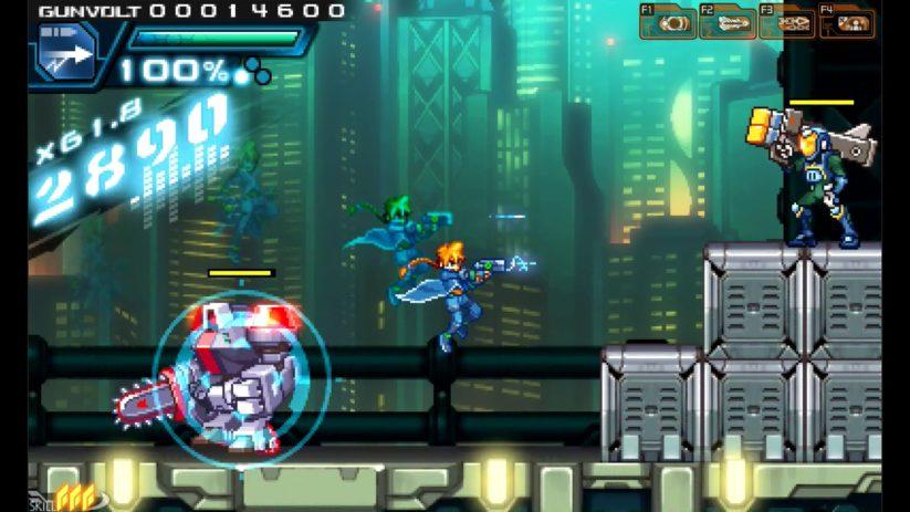 Image du jeu Azure Striker Gunvolt sur Nintendo Switch