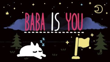 Review de Baba is You, sur Nintendo Switch