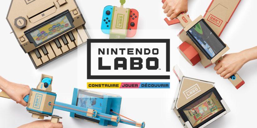 Nintendo Labo pour Nintendo Switch : bannière