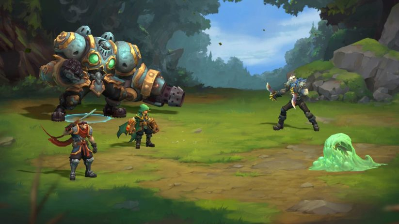 Jeu Battle Chasers : Nightwar sur Nintendo Switch : screenshot de combat