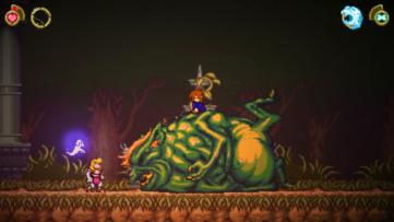 Jeu Battle Princess Madelyn sur Nintendo Switch : le Troll est ballonné
