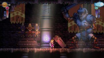 Jeu Battle Princess Madelyn sur Nintendo Switch : face à un géant